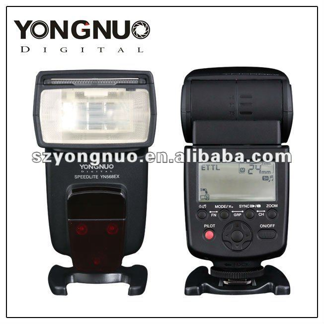 New Yongnuo flash YN-568EX TTL High Speed Flash Speedlite for Canon