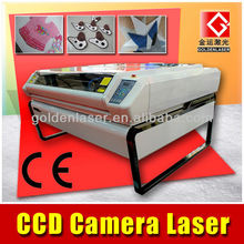 Fabric Applique Embroidery Cutting Laser with CCD Camera