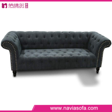 2015 wholesale China living room furniture relaxing black fabric reclining sofa modern lounge chair