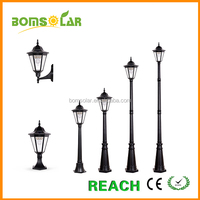 250 High Lumen Outdoor led solar post lights post solar light for yard