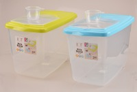 Plastic storage rice box rice container