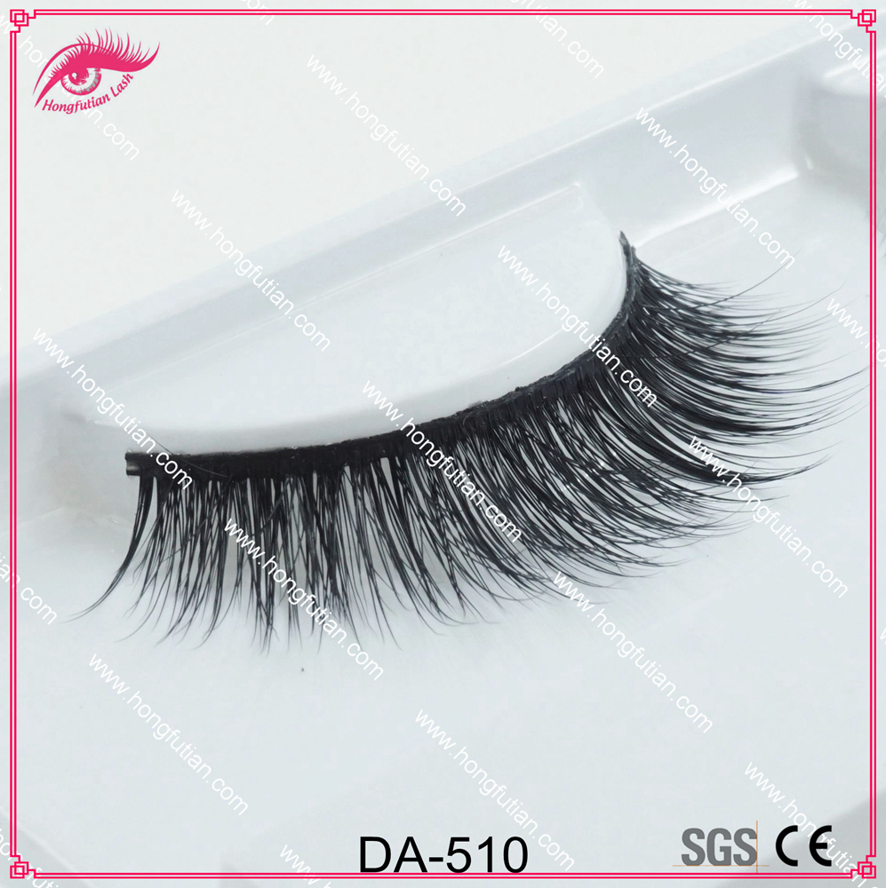 Own brand eyelashes 3d mink fur 100% artificial lashes mink private label
