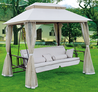 Sun Canopy Garden Patio Hanging Swing Chair And Bed