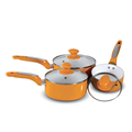 Aluminum Ceramic Coating Saucepan with Lid