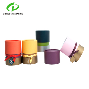 OEM full color printed hard cardboard paper perfume package tubes