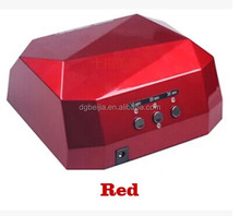 2014 best quality 36w led nail lamp , magnifying lamp for nail art #BJ020