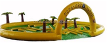 2015 Hot Sports Games Inflatable CRAZY GOLF For Adults and Kids