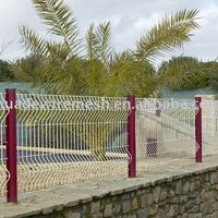 Corrugated Fencing Panels Metal Curved Panel
