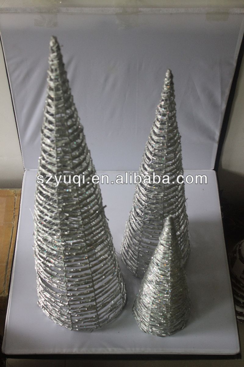 Hot sale silver tip christmas tree