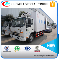 JAC 4*2 120hp 15 cubic meters Energy Saving Cold Chain Truck