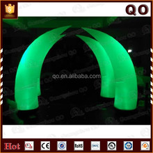 Oxford cloth inflatable flashing cone light for party events