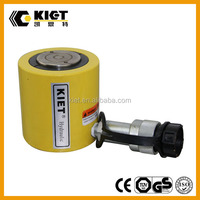 Hydraulic Cylinder Single ACTING low height 5-150ton hydraulic jack 6-62mm long stroke