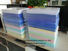 High quality carbonless paper NCR paper CB CFB CF autocopy paper with different colors