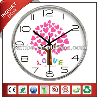 2014 Latest Wall Clock For Wedding Party Decor