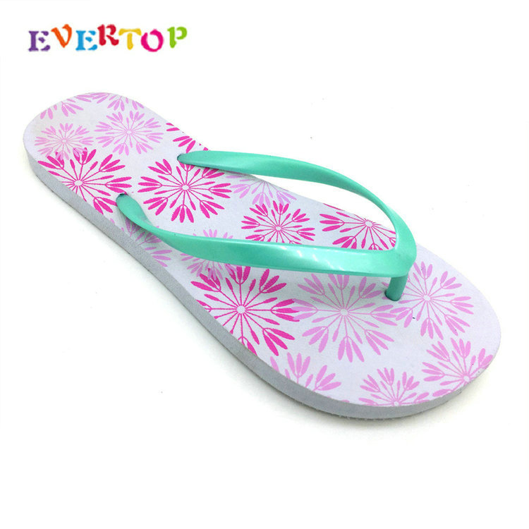 EVERTOP best price to buy flip flops rubber footwear women wedge Slipper women beach flip flops