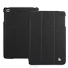 Simple design PU leather Case for iPad mini retina smart cover with stand function