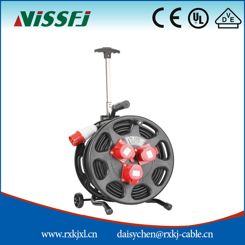 waterproof extension cable reel with cover ip44 cable drum s350iks 380 buy extension cable. Black Bedroom Furniture Sets. Home Design Ideas