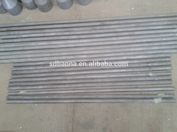 Advanced SISIC Pipes silicon carbide ceramic tube Used in heat exchanging