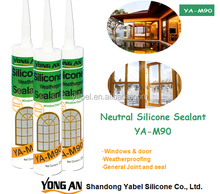 Weatherproof Sealant for Window & Door, neutral silicone sealant/ one component silicone sealant