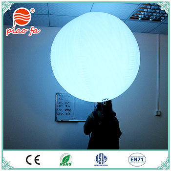 Hot sale factory customized backpack led light PVC Balloon for advertising