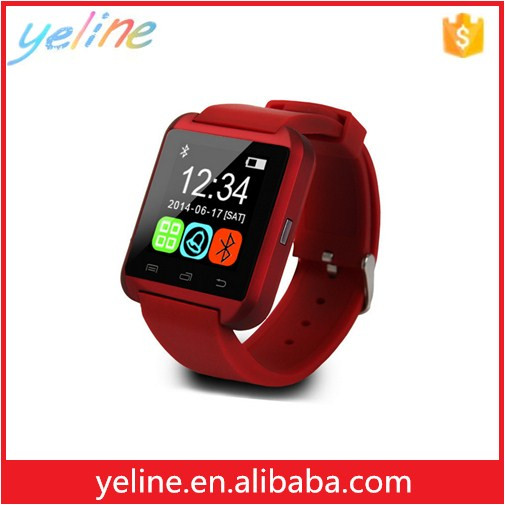 Hot u8 mobile sport bluetooth smart watch with watch box, women watches for u8