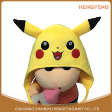 Winter Warm Cute Lovely Pikachu Children's Hat