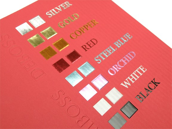 Royal Glory Red Hot Stamping Foil for Paper