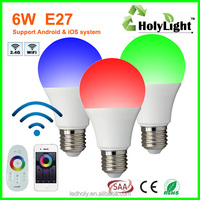 2015 new products Programmable Led Light Controller rgbw led bulb