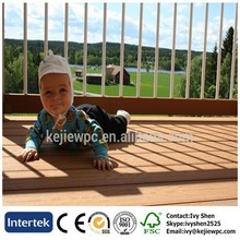 Low Maintainance Decking Board Outdoor Use Waterproof WPC Deck Wood Plastic Cmposite Floor