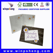 Factory Direct Produce Greeting Card from City of Shen Zhen in Guang Dong