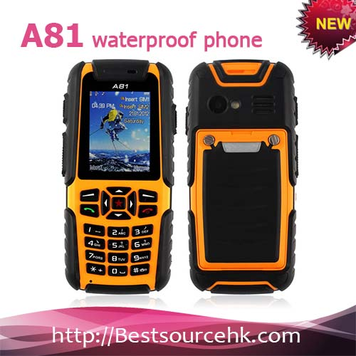 Rugged phone A18 long talking time and stand by time from China