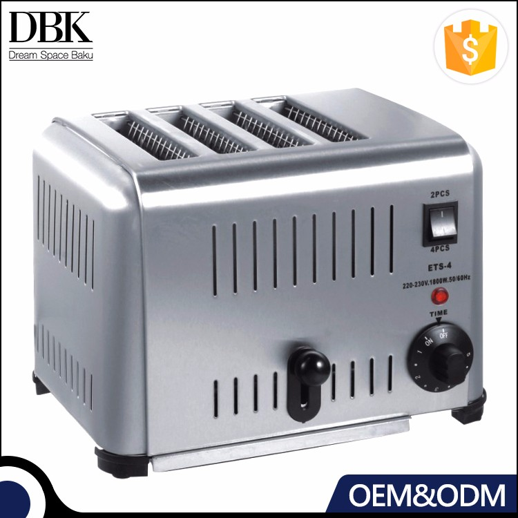 Bakery Toast Machine Commercial Electric Bread Toaster / Grill Bread Toaster