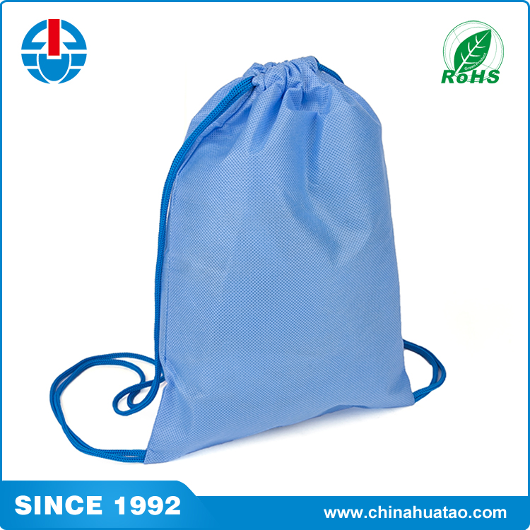 Fugang Portable Cheap Polyester Customize Printed Dust Drawstring Bags