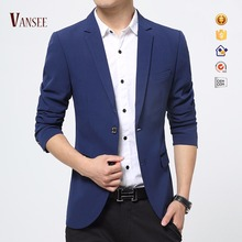 korea style slim fit casual suit jacket blazer for men