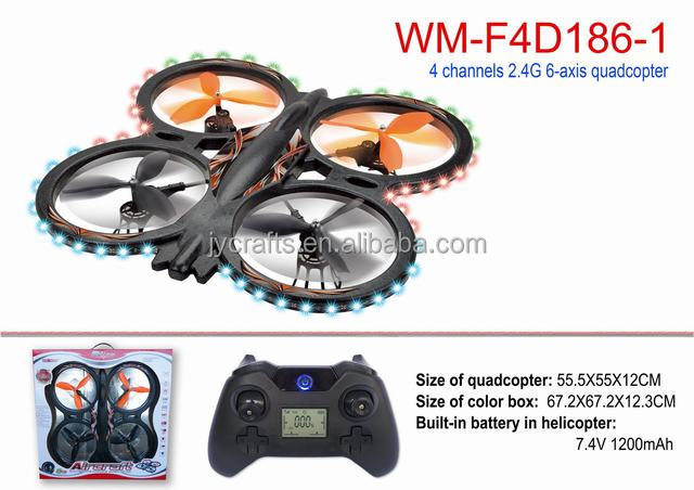 Big drones 2.4Ghz 6 Axis Gyro 4Ch Rc Quadcopter Headless quad copters