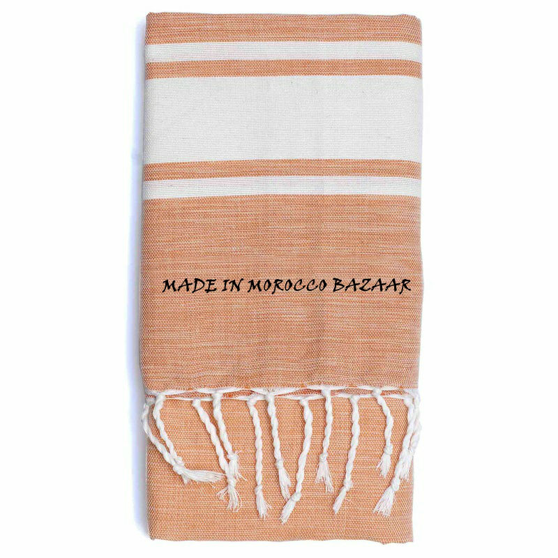 Superb Moroccan Hand Woven Cotton Beach Towels For Sale