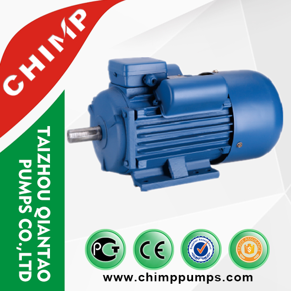 YL series single phase motor 1400rpm starting / working capacitor electric motor 1400rpm