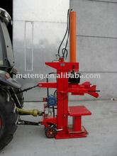 Log splitter with electric motor