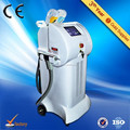 Most hot sale !!! pain free ce approved e-light ipl rf nd yag laser hair removal machine