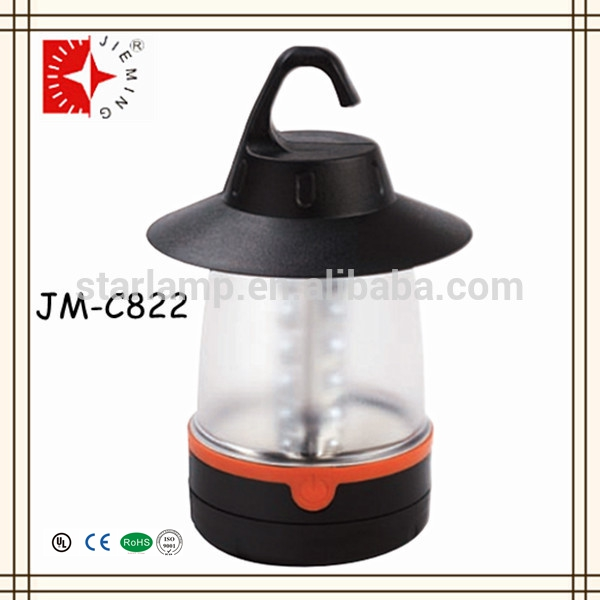 China ABS Plastic Portable Battery Camping LED Lantern