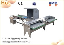 low-consumption egg sorter machine with candler