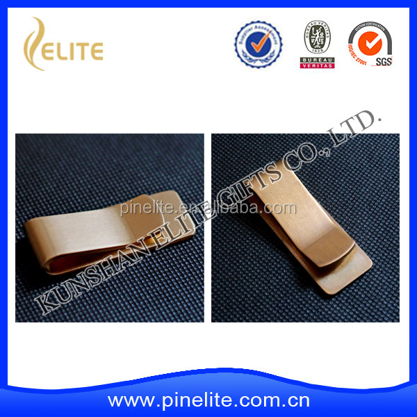 Promotional Gifts Wholesale Silver Metal Money Clip, money clip