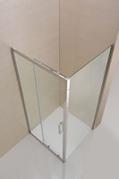 european style stainless steel frame square spare parts shower room none tray or steam