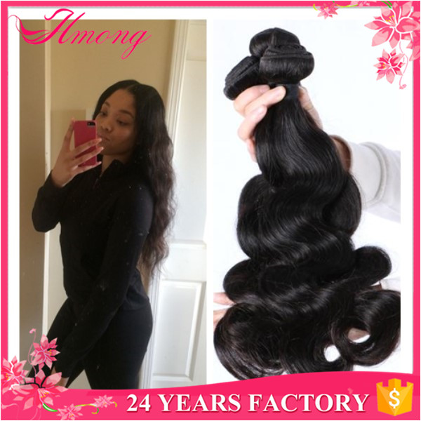 Wholelsae Natural Color Indian Hair Extension Wet And Wavy Virgin Indian Human Hair Extensions