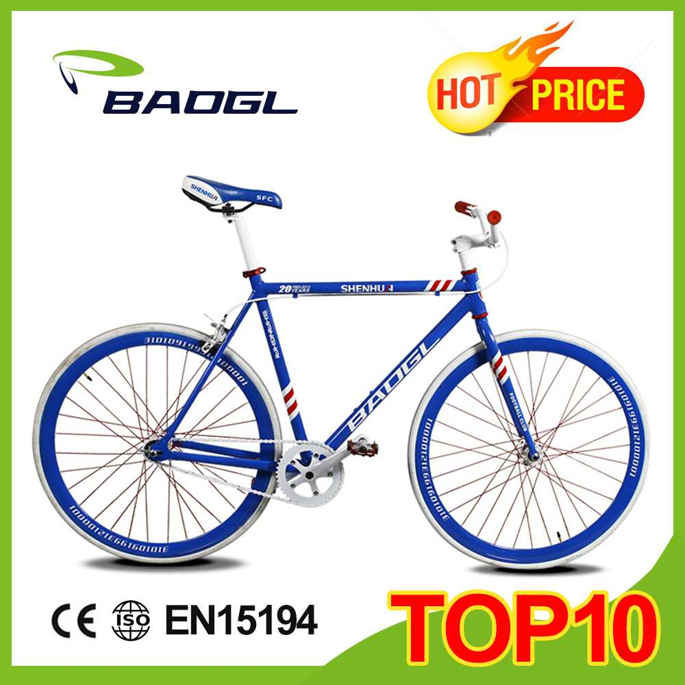 Baogl fixed gear bicycle with antidumping tax 19.2% racing road bike