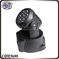 7x10w 4in1 mini led gbr moving head