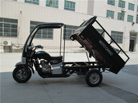 Real Bargain Price 200CC Motorized Cargo Tricycle with Cabin