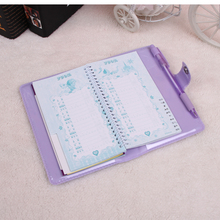 Customized Mini Notebook with PVC cover