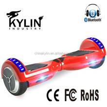 China hoverboard UL 6.5 inch 2 wheel hoverboard red electric scooter