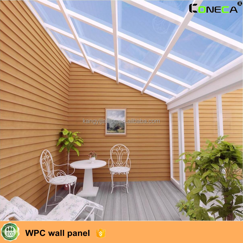 Waterproof wpc wall panel, decorative outdoor wall board like wood panels, wpc ceiling
